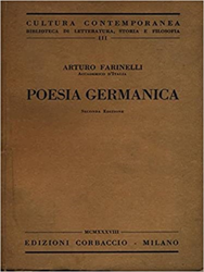 Farinelli, Arturo. - Poesia germanica.